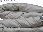 Crescent Moon Alpaca Duvet Summerweight - Luxurious Beds and Linens