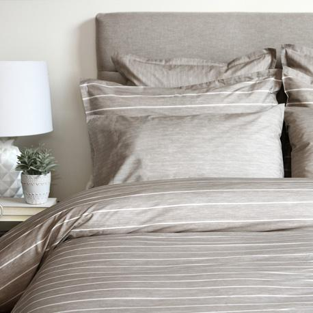 Bedding & Bed Linens - Cuddle Down Chambray Taupe
