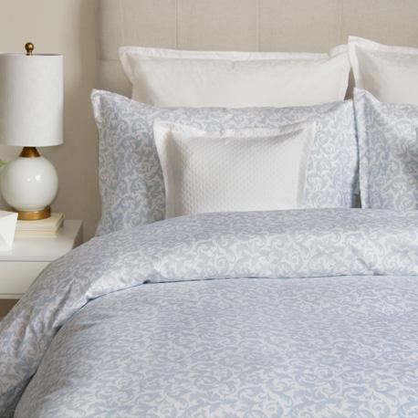 Bedding & Bed Linens - Cuddle Down Love Story Blue