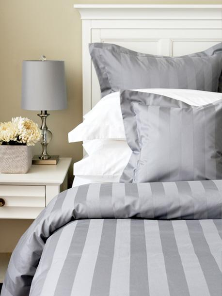 Bedding & Bed Linens - Cuddle Down Tuxedo Stripe