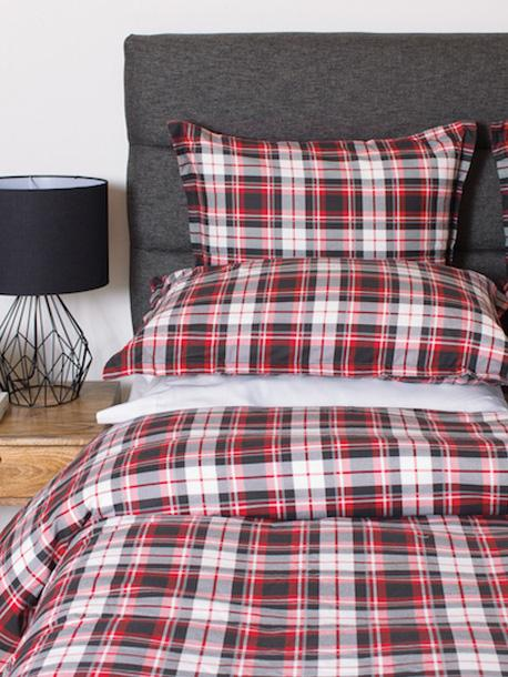 Bedding & Bed Linens - Cuddle Down Wallace Red Flannel