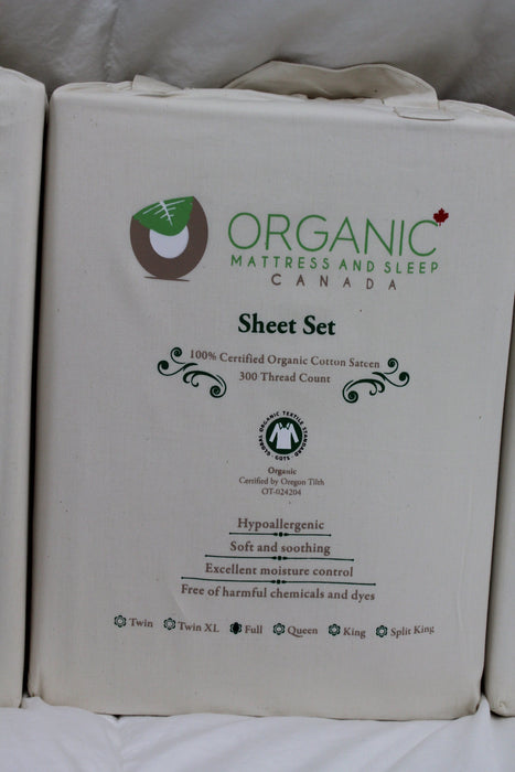 Bedding & Bed Linens - Organic Mattress And Sleep Canada Cotton Sheet Sets