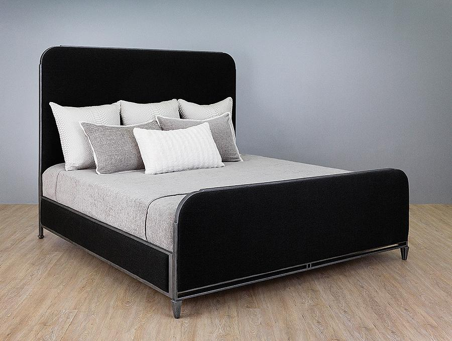 Beds - WESLEY ALLEN BALDWIN UPHOLSTERED BED