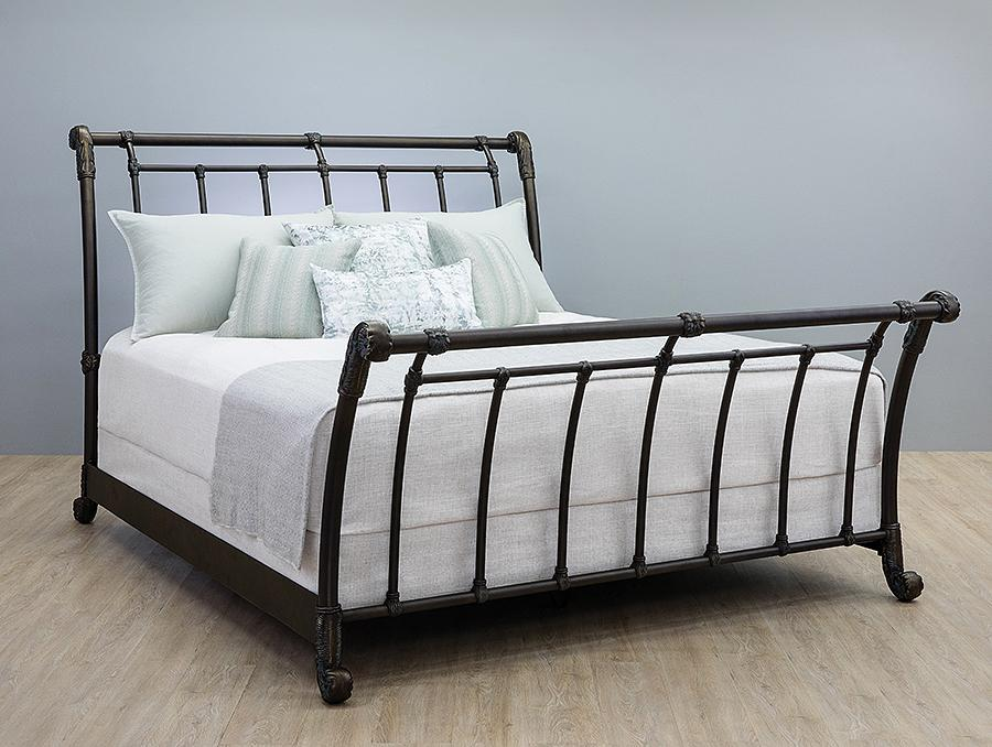 Beds - WESLEY ALLEN BROOKSHIRE IRON BED