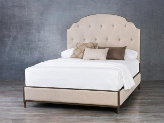 Beds - WESLEY ALLEN CHAMBERLAIN UPHOLSTERED BED
