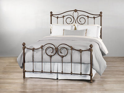 Beds - WESLEY ALLEN OLYMPIA IRON BED