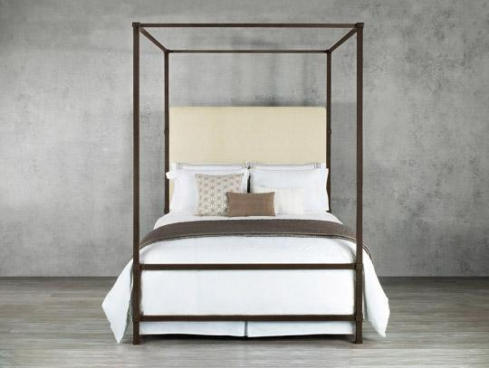 Beds - WESLEY ALLEN QUINCY UPHOLSTERED BED