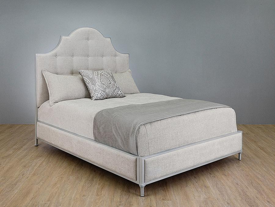 Beds - WESLEY ALLEN THAYER UPHOLSTERED BED