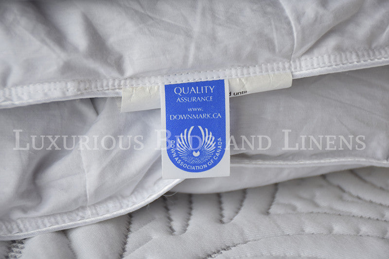 Mont Blanc Polish White Goose Down Duvet - Luxurious Beds and Linens