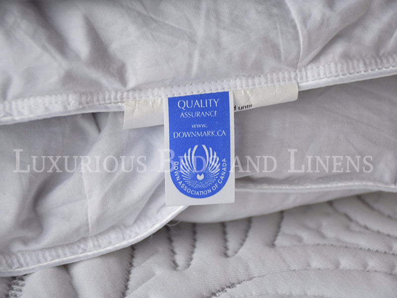 Hutterite White Goose Down Duvet Montana - Luxurious Beds and Linens