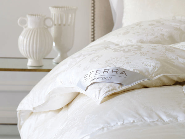 SFERRA® Snowdon Down Duvet - Luxurious Beds and Linens