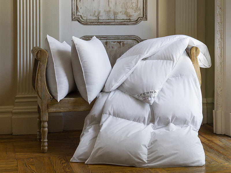 SFERRA® Cornwall Down Pillow - Luxurious Beds and Linens