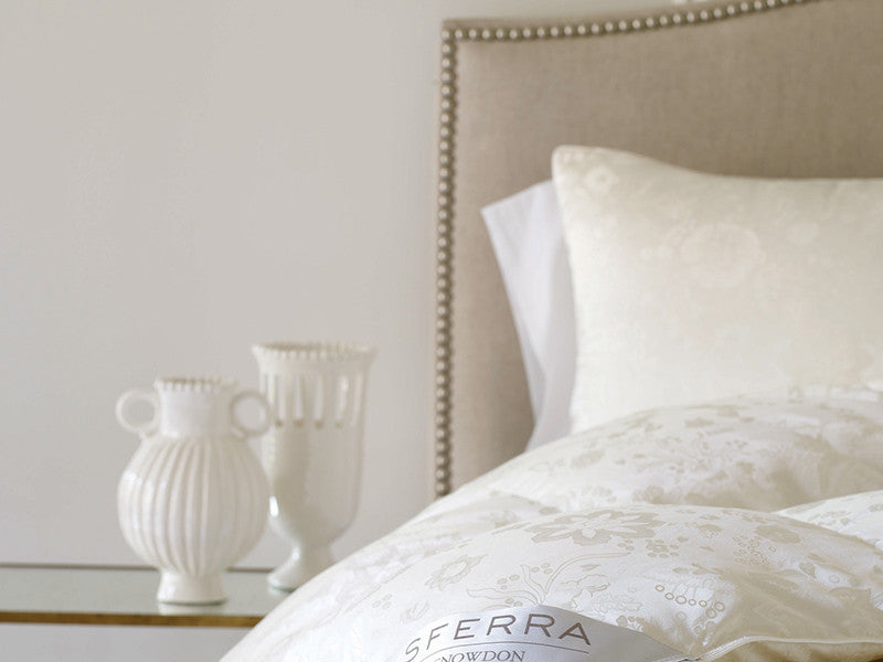 SFERRA® Snowdon Down Pillow - Luxurious Beds and Linens