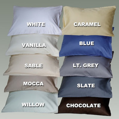Cuddledown Impressions Solids Duvet Covers - Luxurious Beds and Linens