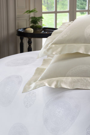 Duvet Covers - SFERRA Giza 45® Medallion Duvet Cover