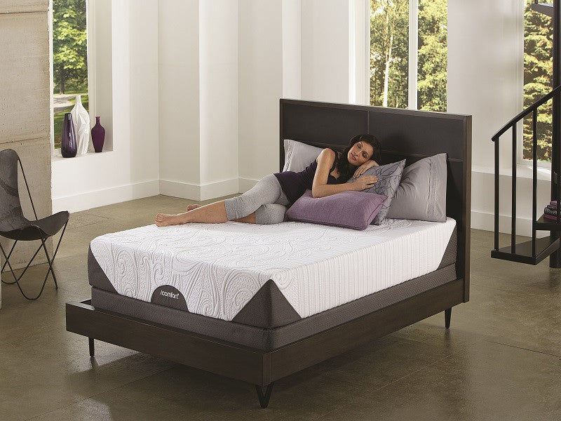 Gel Memory Foam Mattresses   Serta IComfort Genius Mattress