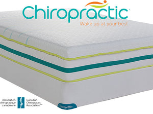 Gel Memory Foam Mattresses - Springwall Chiropractic Kindle Plush Mattress
