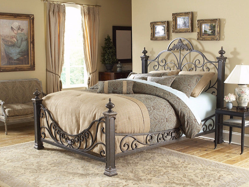 wrought set furniture bedroom iron sustainablepals bed