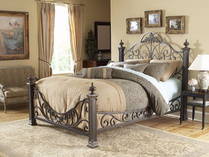 Iron Beds - Fashion Bed Baroque Wrought Iron Bed