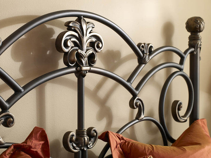 WESLEY ALLEN LUCERNE IRON BED - Luxurious Beds and Linens