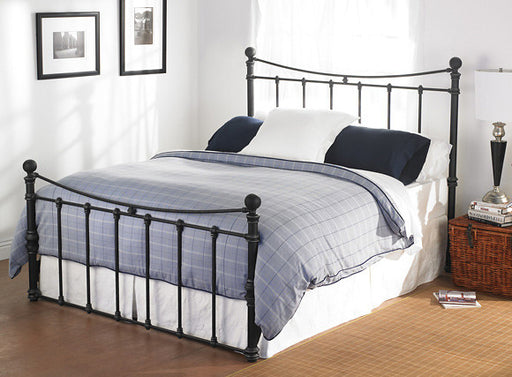 WESLEY ALLEN QUATI IRON BED - Luxurious Beds and Linens