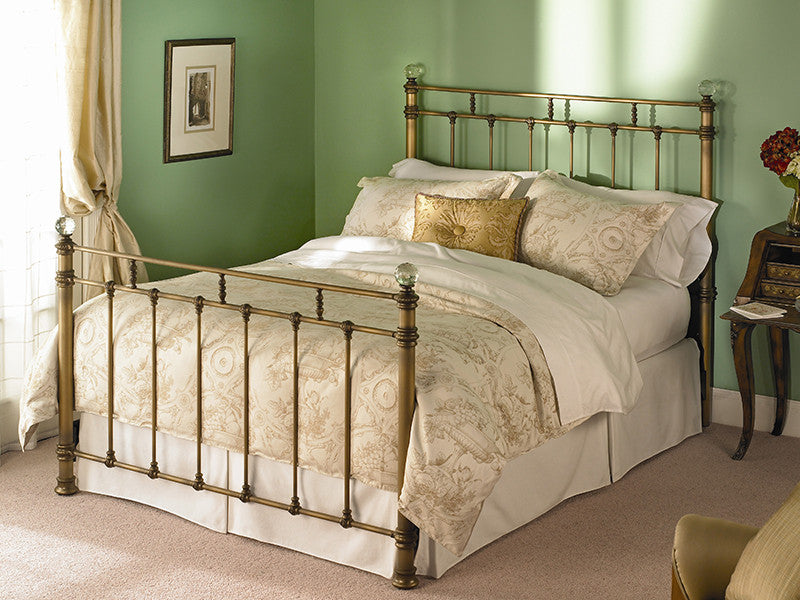 WESLEY ALLEN REMINGTON IRON BED - Luxurious Beds and Linens