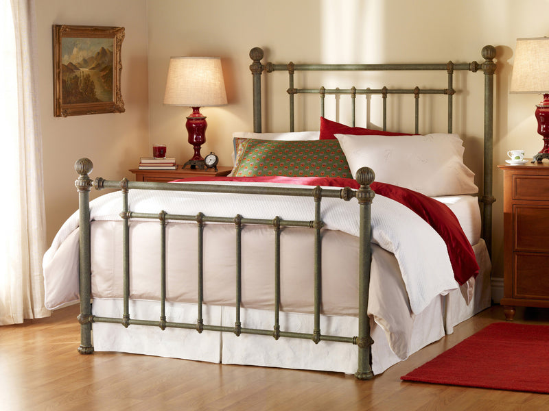 WESLEY ALLEN REVERE IRON BED - Luxurious Beds and Linens