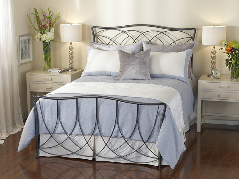 WESLEY ALLEN MARIN IRON BED - Luxurious Beds and Linens