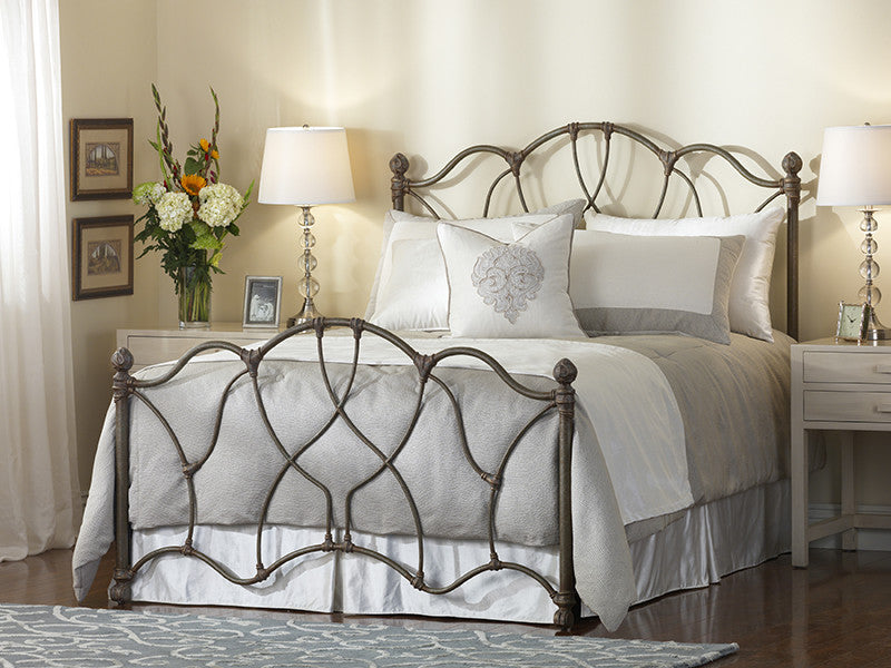 WESLEY ALLEN MORSLEY IRON BED - Luxurious Beds and Linens