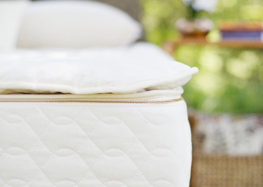 Mattress Toppers - Savvy Rest Woolsy Organic Wool Topper