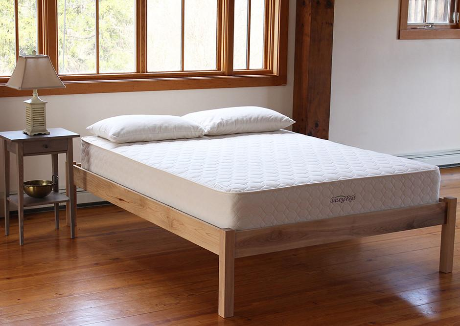 Mattresses - Savvy Rest Earthspring Organic Innnerspring Mattress
