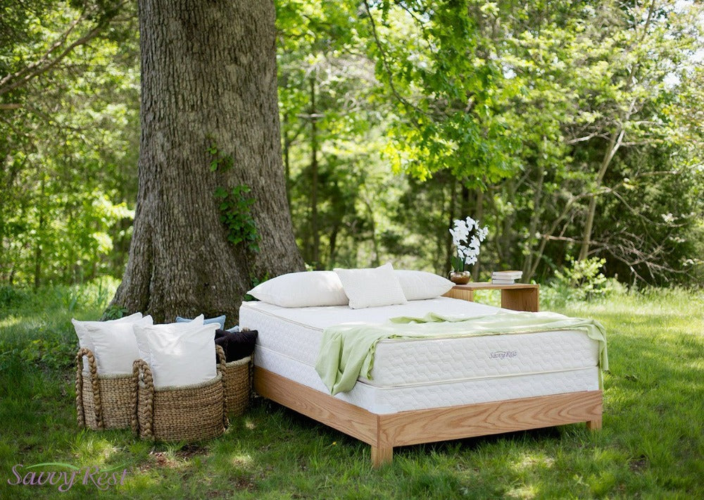 Mattresses - Savvy Rest Serenity Organic Mattress