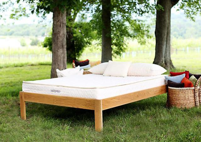 Mattresses - Savvy Rest Tranquility Organic Mattress