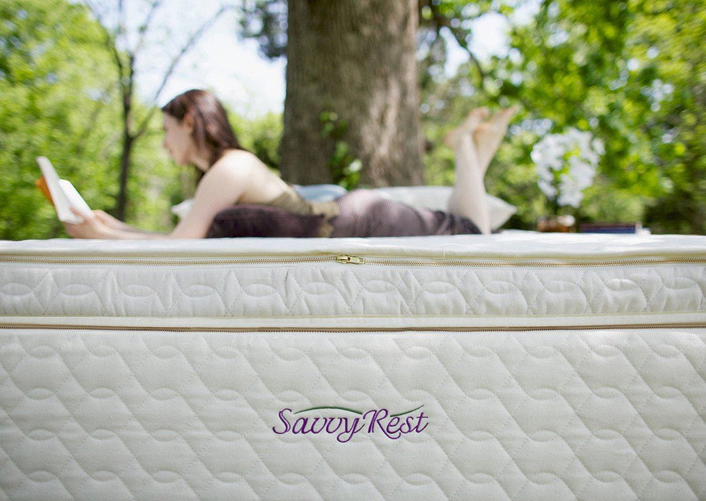 Mattresses - Savvy Rest Unity Pillowtop Organic Mattress