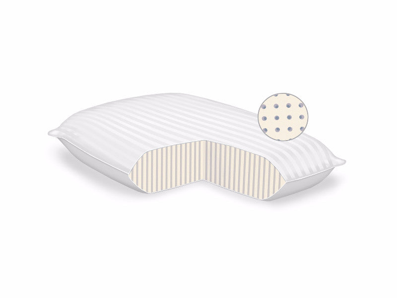 design natural solutions latex pillow pillows contour neck