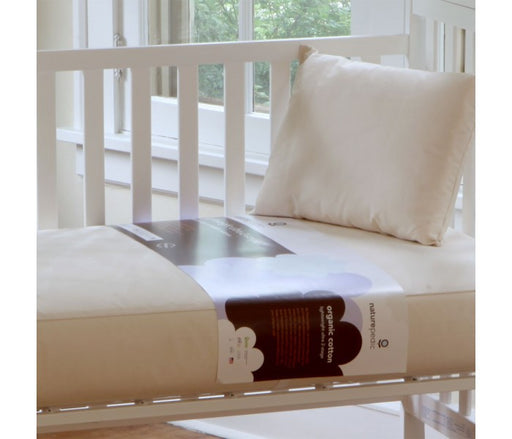 Naturepedic Lightweight Ultra 2 in 1 Organic Cotton Crib Mattress - Luxurious Beds and Linens