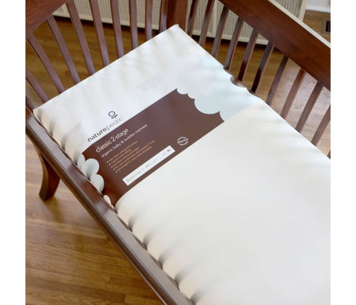 Organic Crib Mattress - Naturepedic Ultra Organic Cotton Classic Seamless Crib Mattress