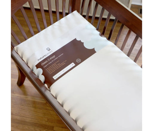 Naturepedic Ultra Organic Cotton Classic Seamless Crib Mattress - Luxurious Beds and Linens