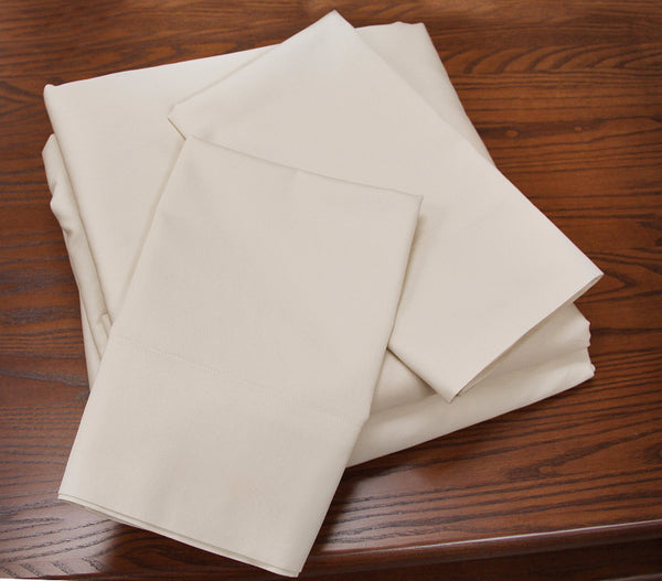 OMI Pearl Organic Sheet Set - Luxurious Beds and Linens