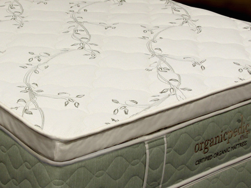 OMI Allura Organic Latex Mattress Topper - Luxurious Beds and Linens