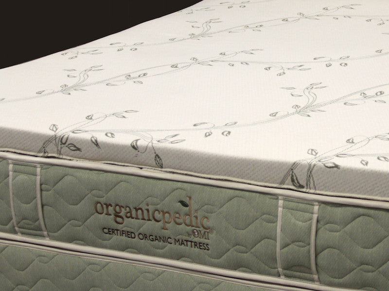 OMI Verona Organic Latex Mattress Topper - Luxurious Beds