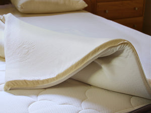 Organic Latex Topper - OMI Verona Organic Latex Mattress Topper