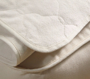 Organic Mattress Protector - OMI Organic Flannel Mattress Pad