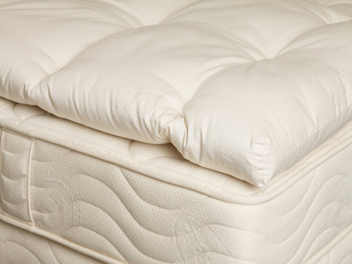 OMI Wooly Organic Mattress Topper - Luxurious Beds and Linens