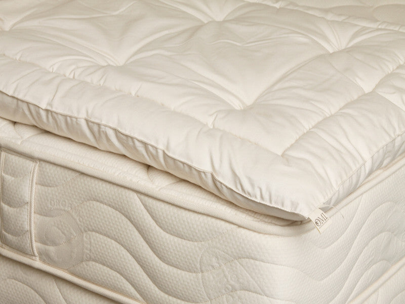 Omi Wooly Organic Mattress Topper Luxurious Beds And Linens