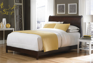 Solid Wood Beds - Fashion Bed Bridgeport Sleigh Bed