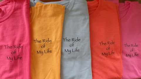 Ride of My Life Short Sleeve Women's