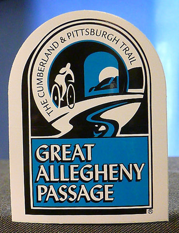 Great Allegheny Passage Outdoor Quality Sticker