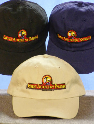 *Great Allegheny Passage Logo Hat