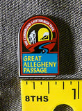 Great Allegheny Passage Metal Lapel Pin